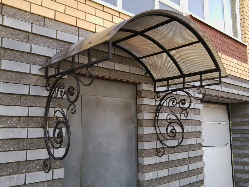 Кованые козырьки и навесы | Sofa.od.ua