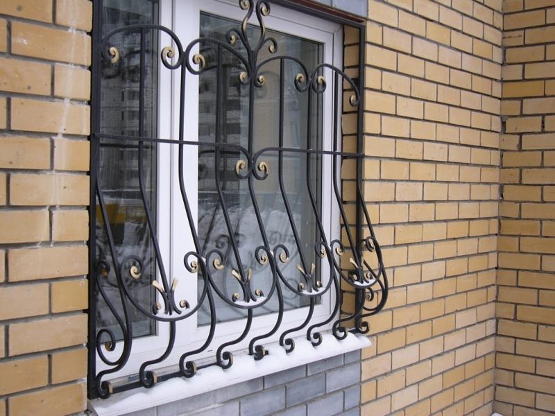 Кованые решетки на окна | Sofa.od.ua