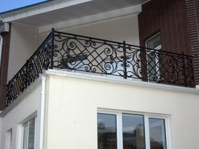 Кованые балконы и кованые ограждения для балконов напрямую и.
