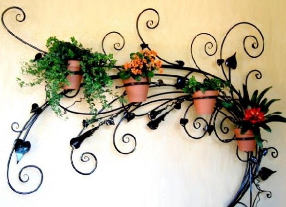 Фото красивых кованых цветов